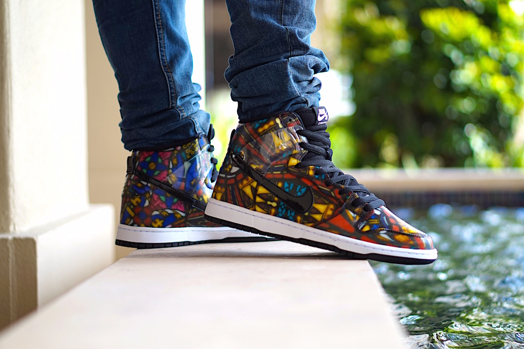 CNCPTS x NIKE SB Stained Glass