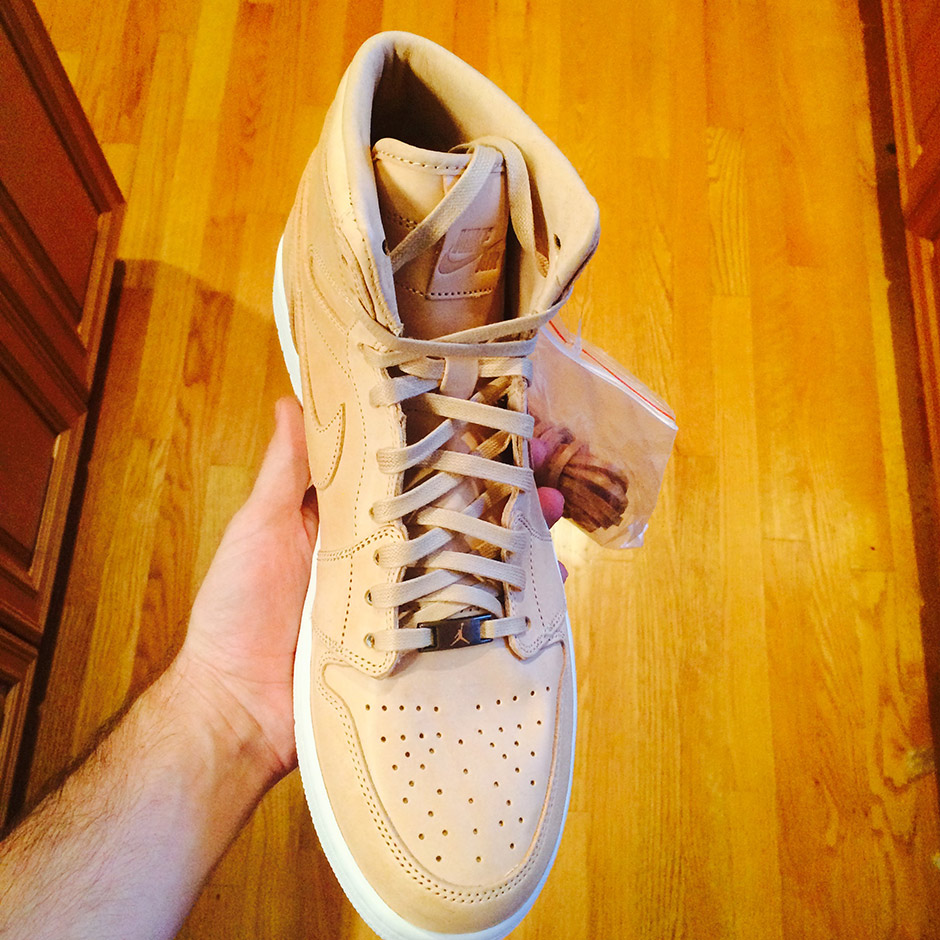 Jordan Retro 1 High OG Tan Leather_3