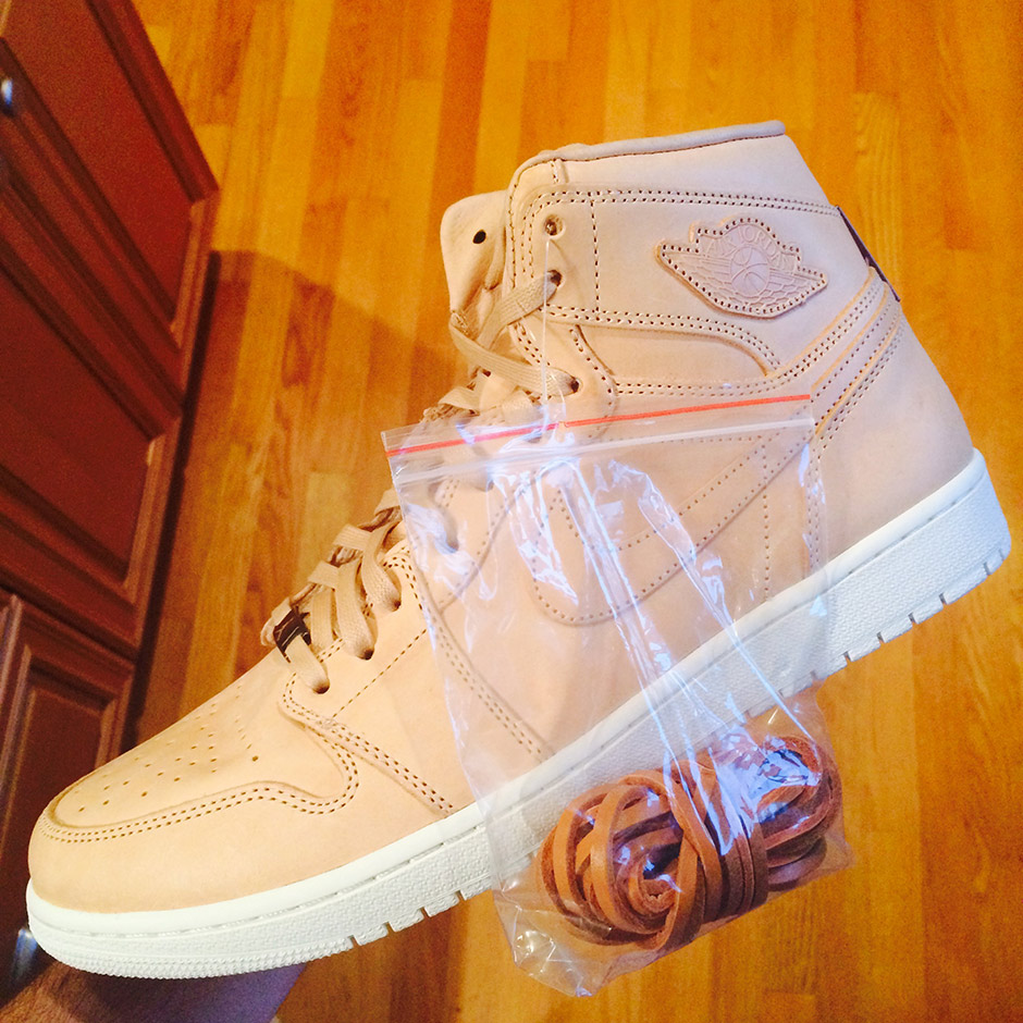 Jordan Retro 1 High OG Tan Leather_4