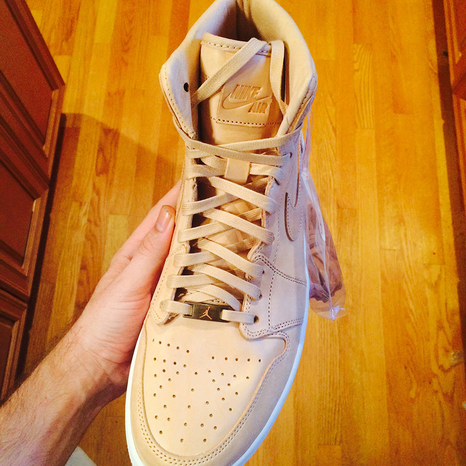 Jordan Retro 1 High OG Tan Leather_5