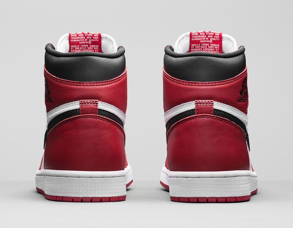 ebd15ddfd1f3c5 Air Jordan 1 Chicago Drawing Air Jordan 1 Chicago Official Images 2