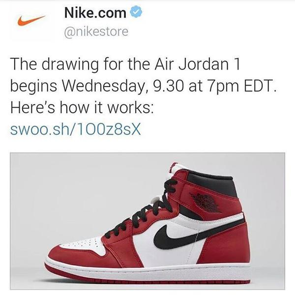 Air Jordan 1 Chicago_Drawing