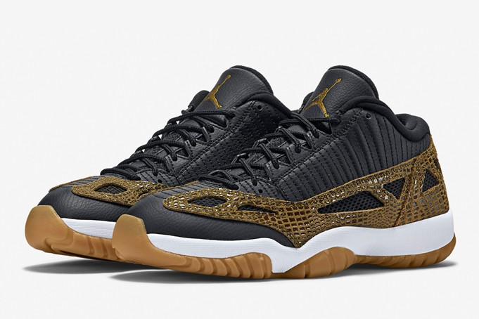 "28f45718265d Air Jordan 11 IE Low ""Croc"" Release Reminder - Unlkd"