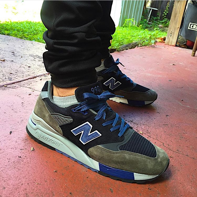 "J. Crew x New Balance 998 ""Night Hawk"""
